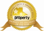 Readers Choice Awards Tax Specialist of the Year 2012