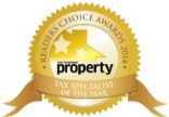 Readers Choice Awards Tax Specialist of the Year 2014